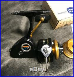PENN 716 Z ULTRA LIGHT SPINNING Reel Plus Extra Spool And DRG Washers