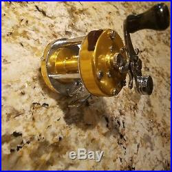 PENN 920 Gold Levelmatic Baitcaster Reel Free Shipping