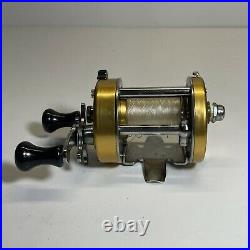 PENN 940 Levelmatic Bait Casting Fishing Ball Bearing Reel Made in USA Saltwater