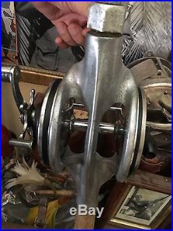 Penn Cradle Reel 9/0 Senator -reduced! Vintage, Wood Butt Big Game Fishing