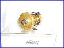 PENN LEVELMATIC 910 BAIT CASTING REEL with BOX MANUAL WRENCH VINTAGE NEAR MINT