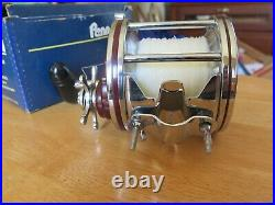 PENN Special Senator Vintage WOW Perfect Chrome 114 H 6/0 High Speed withbox
