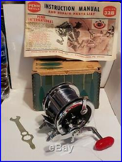 PENN USA Senator 110 1/0 Reel WithBox INSTRUCTIONS MANUAL COLLECTOR QUALITY
