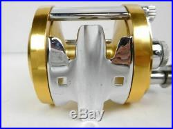 PENN Vintage Fishing Reel International 12H Gold some scratches and dirt