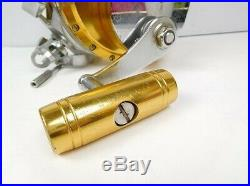 PENN Vintage Fishing Reel International 130 Gold some scratches and dirt