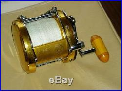 PENN Vintage Fishing Reel International 80 Gold some scratches and dirt