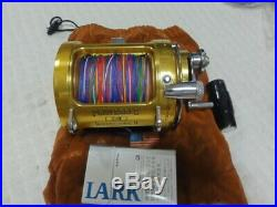 PENN Vintage Fishing Reel International II 30SW Gold made in USA with Bag