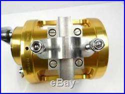 PENN Vintage Fishing Reel International II 30TW Gold made in USA scratches