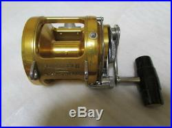 PENN Vintage Fishing Reel International II 30T Gold some scratches and dirt