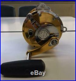 PENN Vintage Fishing Reel International II 80STW 2Speed Gold Big Game Fishing