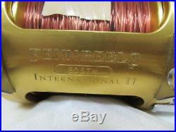 PENN Vintage Fishing Reel International II 80STW 2Speed Gold made in USA F/S