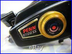 PENN Vintage Spinning Reel Spinfisher 6500SS Gear4.8 Scratches and dirt