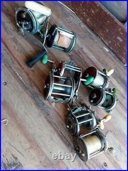 PENN reel lot of 7 reels