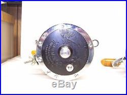 Pair of Left Handed Penn 6/0 Senator Reels Made In USA