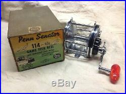 Penn 114- 6/0 Reel Exceptional Condition With Vintage Box
