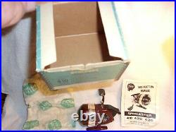 Penn 410 Level Wind Spincaster Orig Box Wrench Lube Manual Pack Paper New In Box