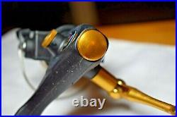 Penn 420SSg Spinning Reel New Black & Gold USA Mint Hi Speed Unused Ultralight