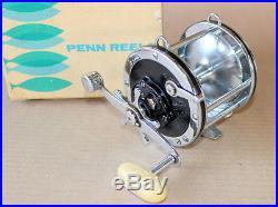 Penn 4/0 Senator 113h Big Game Saltwater Reel Beautiful Condition Mint In Box