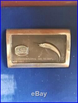 Penn 50th Anniversary Reel mint in wood box