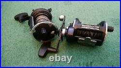 Penn 535, pair of custom reels