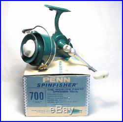 Penn 700 Spinning Reel In Box With Papers Spare Spool