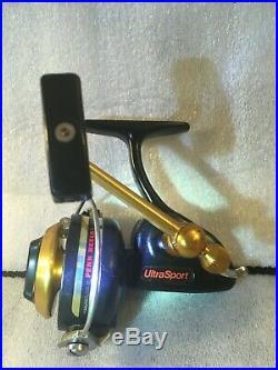 Penn 714Z UltraSport ultra light spinning reel made in USA from NOS parts