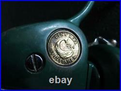 Penn 714 Ultralight Spinning Reel + Bonus spool Classic Grennie USA Beauty