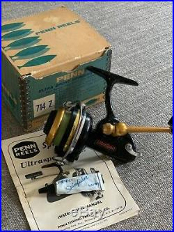 Penn 714z Spinning Reel Used Made in U. S. A