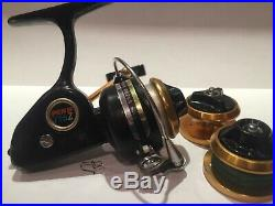 Penn 716Z Ultra Light Spinning Reel, includes 2 spare spools