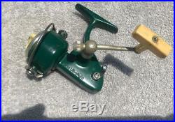 Penn 716 Ultralight Spinfisher. NICE condition! / GREEN