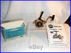 Penn 716 Z Ultra Light Spinning Fishing Reel Orig Box & Manual New Never Fished