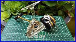Penn 716z spinning reel with clear housing and side plate