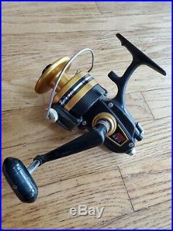 Penn 750SS 750 SS Spinning Reel Saltwater Fishing Black Gold USA Surf