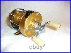 Penn 910 Levelmatic Bait Casting Reel Excellent Work Condition Clean