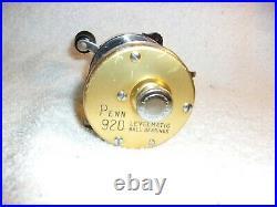 Penn 920 Levelmatic Bait Casting Reel Excellent Work Condition Clean