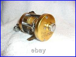Penn 930 Levelmatic Bait Casting Reel Box Papers Wrench Minty Condition Clean