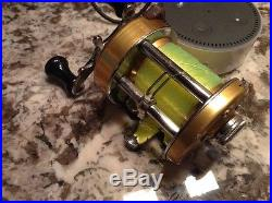 Penn 940 Levelmatic Casting Reel With Box, wrench and paperwork