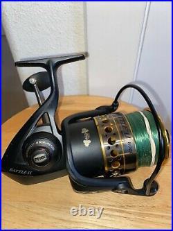 Penn Battle II 8000 Ht100 Saltwater Spinning Fishing Reel