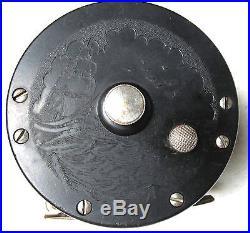 Penn Bayhead early waffle clicker reel 250 yd
