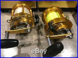 Penn Big Game 16S Two Speed International Fishing Reel Lot of 2 Pristine Cond
