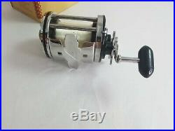 Penn Fishing Reel 140L Squidder In Original Box Anodized Aluminum Spool