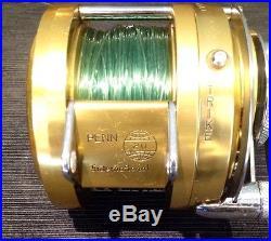 Penn International 20 Fishing Reel Vintage Big Game Trolling CLEAN Cal's 2 Speed