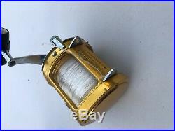 Penn International 50 SW Two Speed Big Game Fishing Reel #2 Vintage Lures