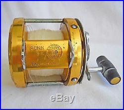 Penn International Gold 50 Big Game Fishing Reel Deep Sea Vintage