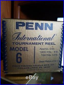 Penn International Model 6