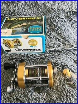 Penn Levelmatic Model 930 Antique Bait Casting Fishing Reel