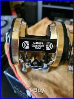 Penn Mag Power 970 In A Good Used Condition Quite Rare Reels / Boxed With