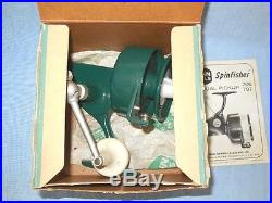 Penn Model 706 Reel withBox, Instructions withGold Medallion, Manual Pickup