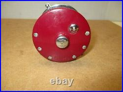 Penn Monofil 27 Vintage Fishing Reel Rose Color GREAT CONDITION
