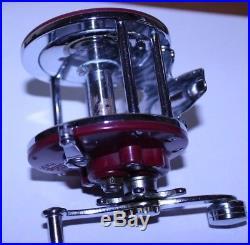 Penn Monofil Model 27 Saltwater Reel Rare Strawberry Model 30-180s